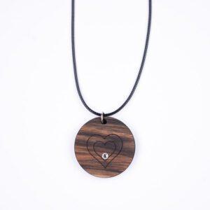 leseno darilo valentinovo lesena ogrlica 4