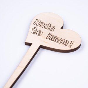 leseno darilo valentinovo srce toper 2