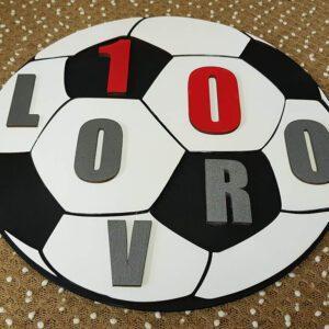 leseno darilo nogometna žoga