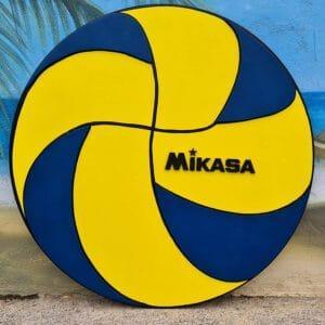 leseno darilo odbojkarska žoga