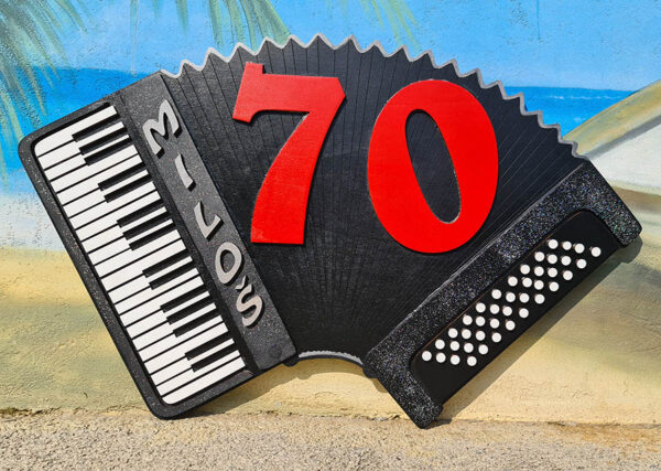leseno darilo znak za obletnico harmonika 1