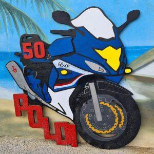leseno darilo znak za obletnico motor 3