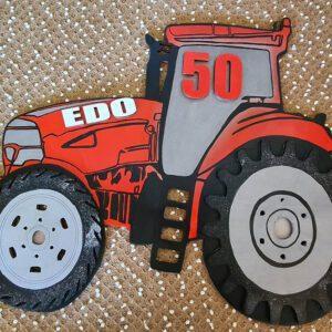 leseno darilo znak za obletnico traktor mccornic