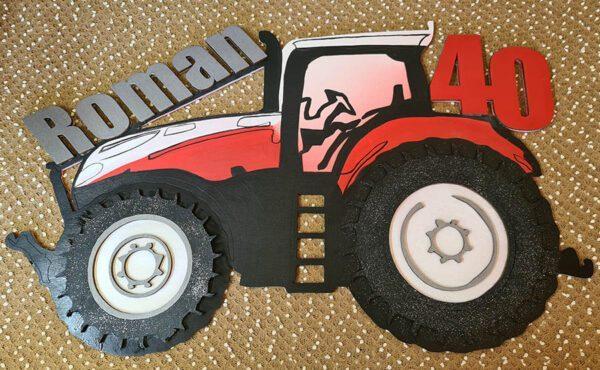 leseno darilo znak za obletnico traktor stayer