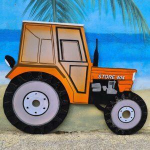 leseno darilo znak za obletnico traktor štore