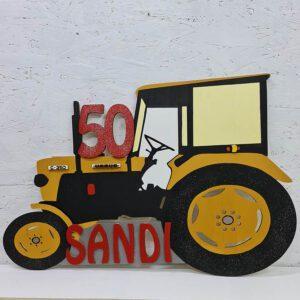 leseno darilo znak za obletnico traktor ursus