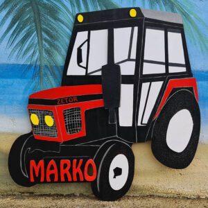 leseno darilo znak za obletnico traktor zetor