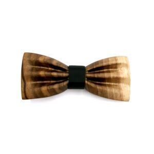 Leseni metuljček Wallie unikatni leseni nakit