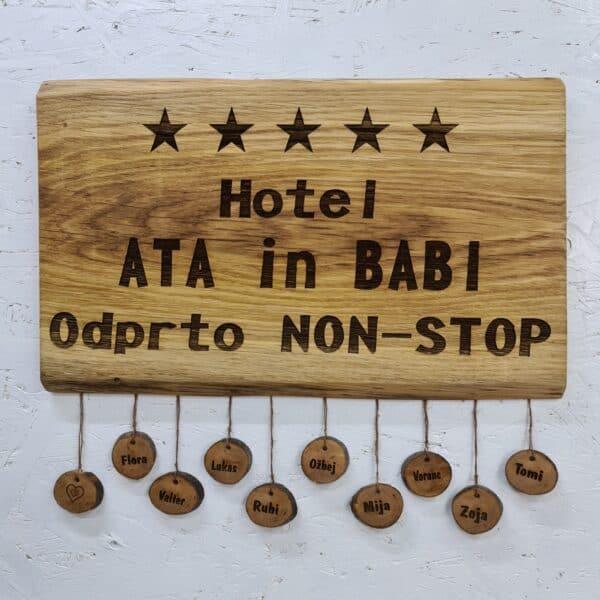 hotel babi in dedi- tabla