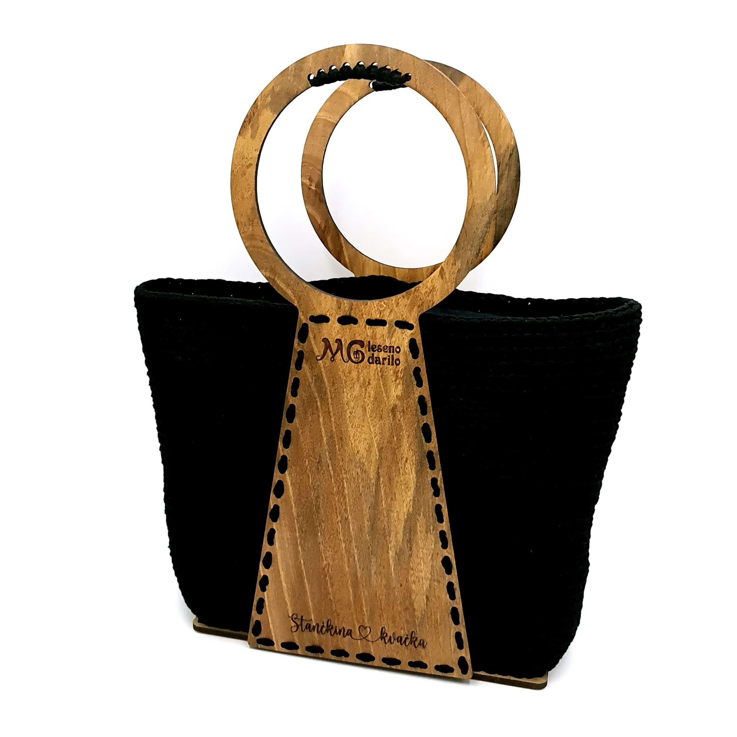 Unikatna kvačkana torbica